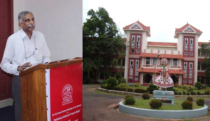 Removal of Prof. N.S. Gopalakrishnan working as impediment to CUSAT's upgradation to IIEST