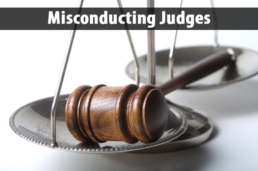 Misconducting judges