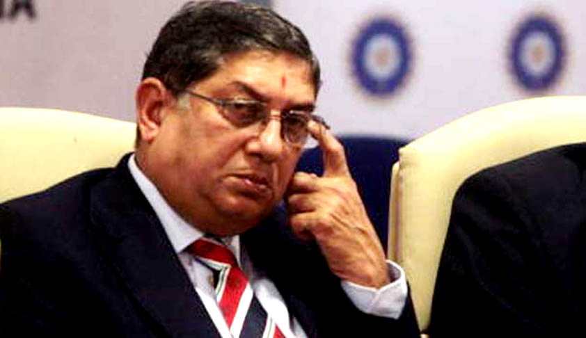 Supreme Court says Srinivasan must step down as BCCI president