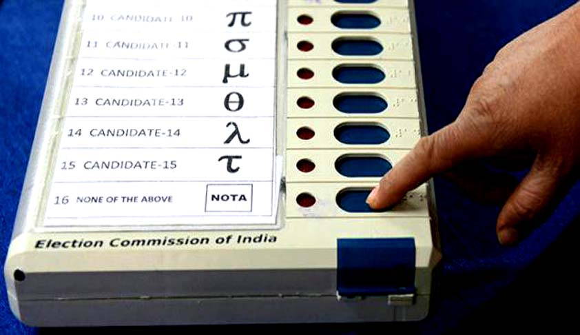 What is NOTA in EVM? How is a NOTA vote cast?