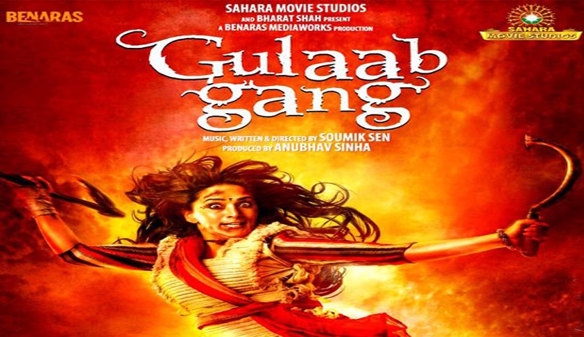 Delhi HC stays screening of Madhuri Dixit starrer 'Gulaab Gang'