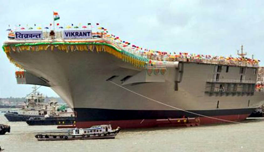 SC nod for moving of INS Vikrant to Darukhana Ship breaking yard