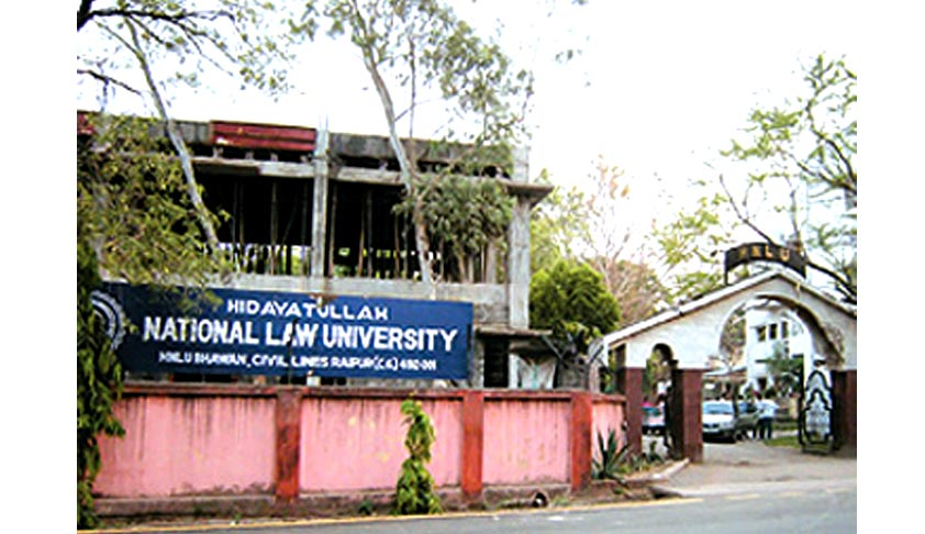 Hidayatullah National Law University: 20% jump in placements from the last year