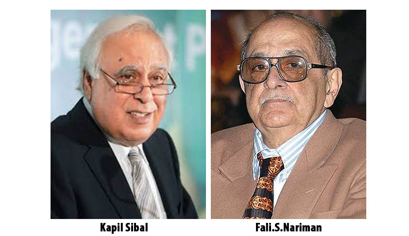 Judicial Appointments Commission Bill: Kapil Sibal and Fali Nariman decide to challenge Constitutional Validity of the two Bills