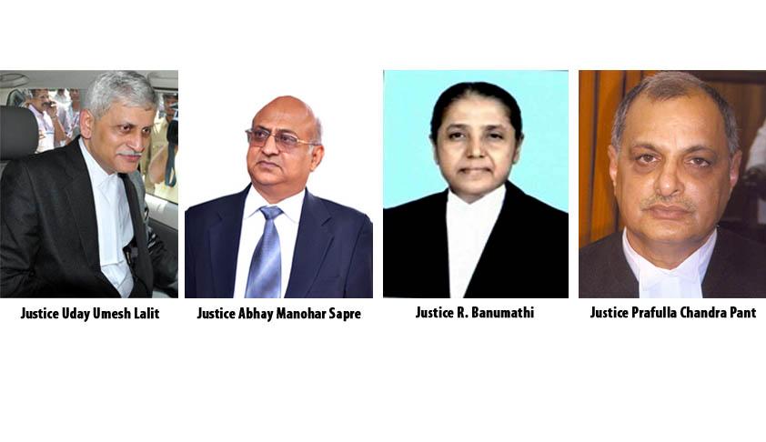 Apex Court gets 4 new Judges