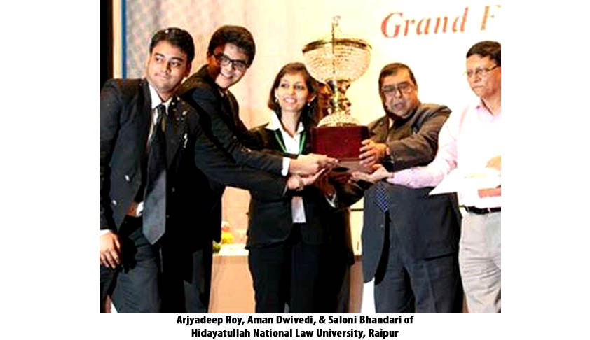 In Conversation with the Winning Team of 2nd KIIT National Moot Court Competition, 2014