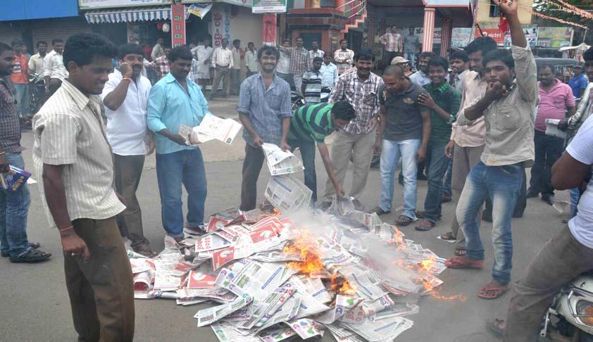 Telangana: Intolerance to hostile media