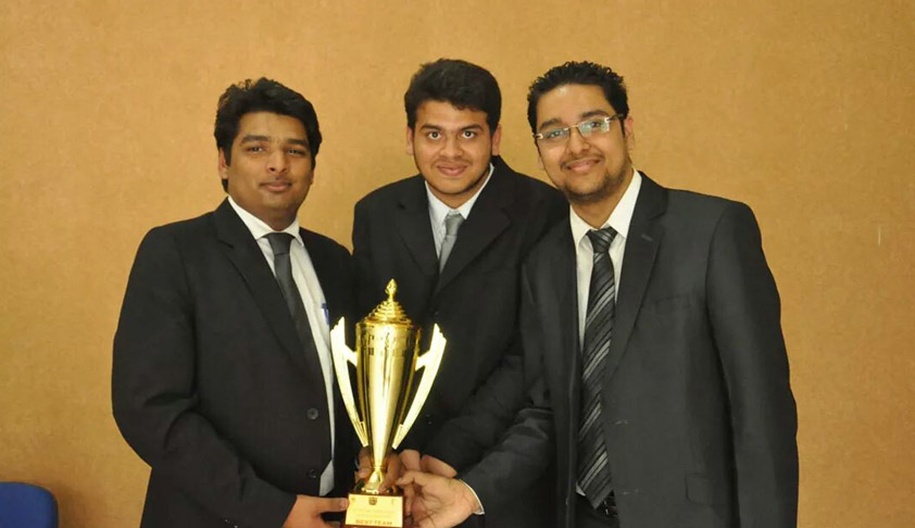 In Conversation with the Winning Team of 5th NLIU Juris Corp National Corporate Law Moot Court Competition, 2014