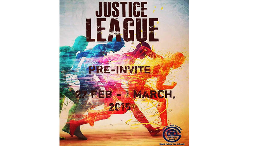 "GNLU's Annual Sports Fest ""Justice League"" 2015"