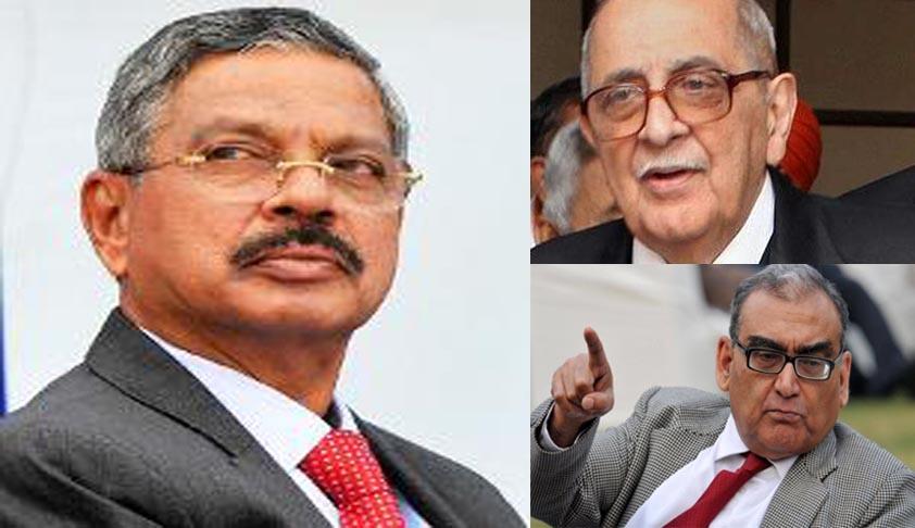 Chief Justice Dattu's Modi remarks inappropriate; Fali Nariman and Justice Katju