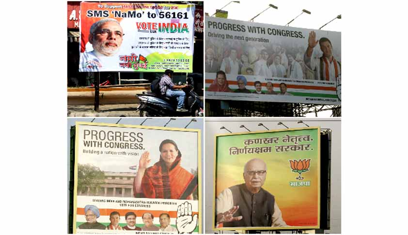 Centre opposes Supreme Court's framing of guidelines on government advertisements
