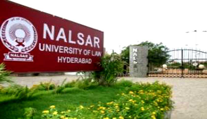 Teaching Vacancies at NALSAR University of Law, Hyderabad