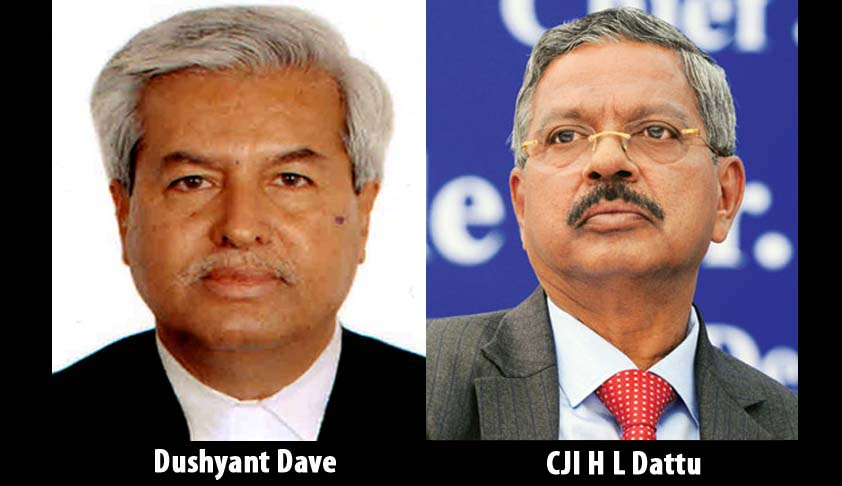 "Dushyant Dave writes a letter to CJI H.L. Dattu complaining about ""sudden and unannounced listing of matters"""
