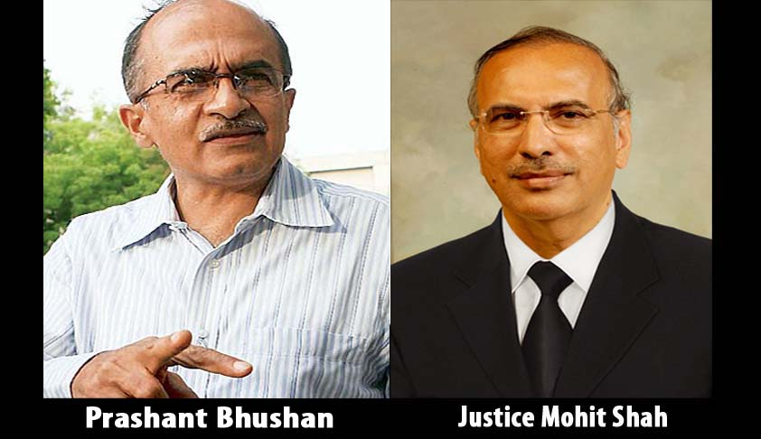 Proposal to elevate Bombay High Court Chief Justice Mohit Shah is strange and shocking; Prashant Bhushan