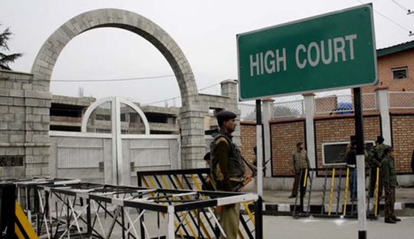 SARFAESI Act cannot be enforced in Jammu and Kashmir, rules the J&K High Court