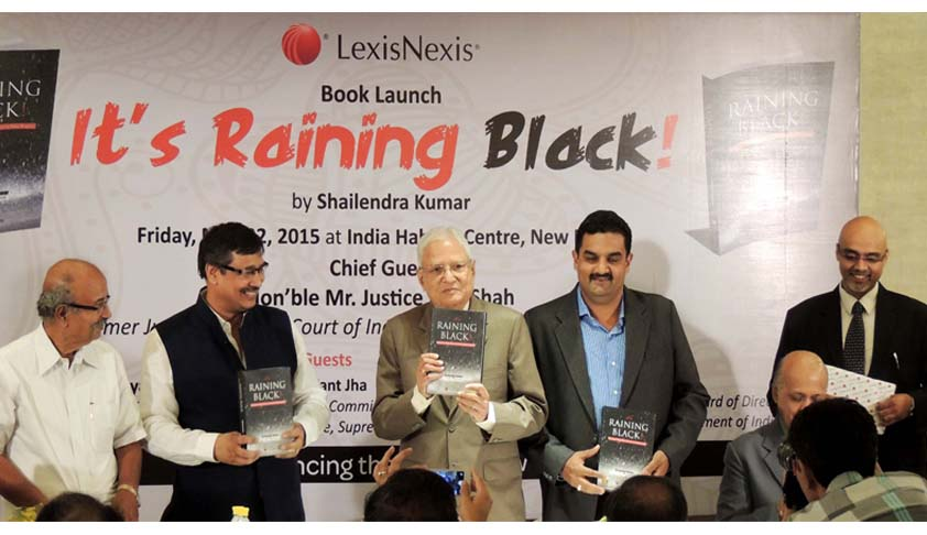 "LexisNexis launches new book on black money titled ""It's Raining Black! Chronicles of Black Money, Tax Havens & Policy Response"""