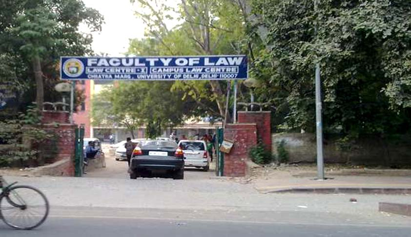 100 Assistant Professor (ad-hoc) Vacancies at Faculty of Law, Delhi University