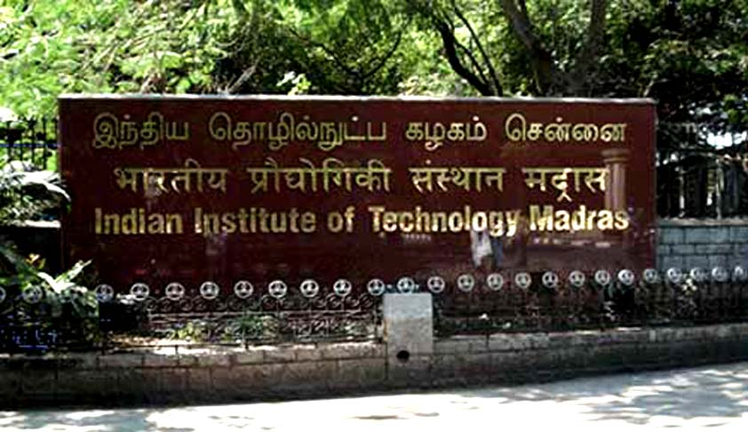 Research Associate Vacancy at MHRD IPR Chair, IIT Madras