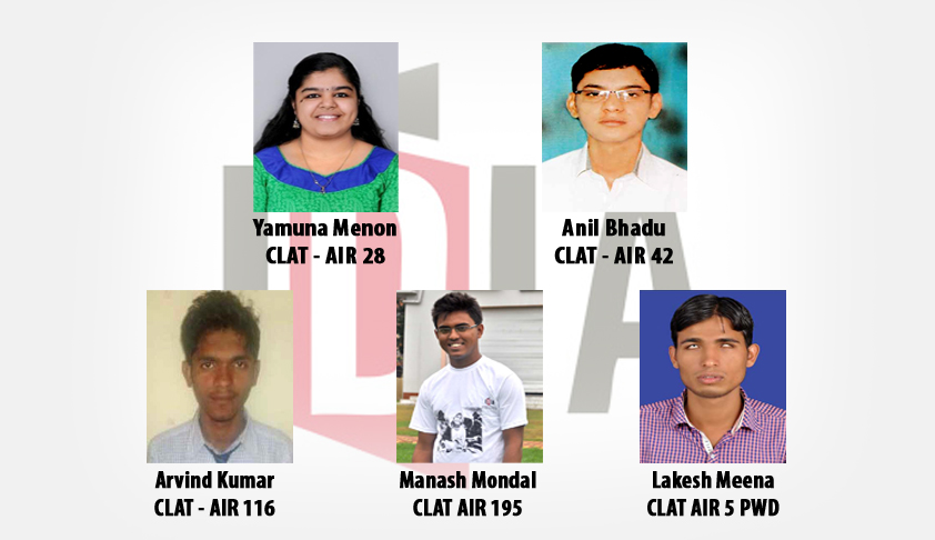 CLAT - 2015 ; Meet Five IDIA Scholars who made history