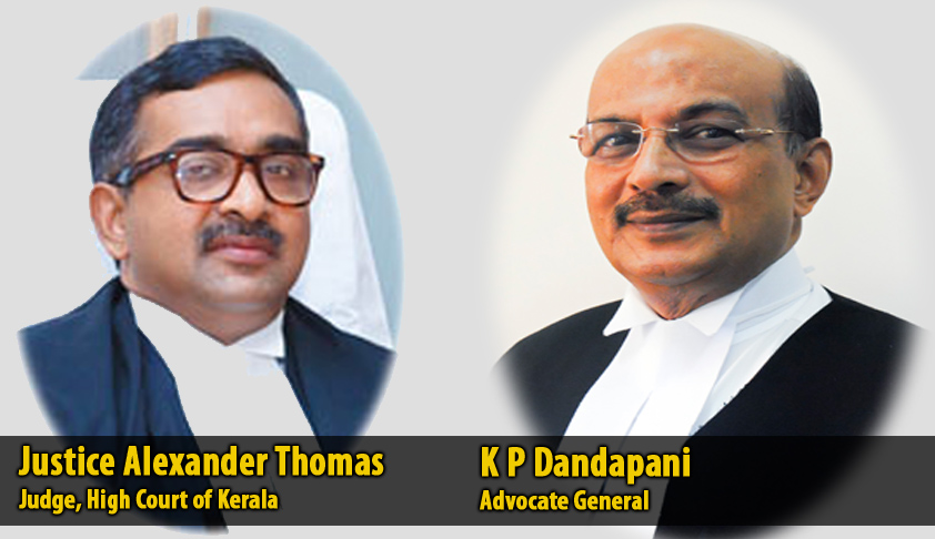 "Govt. Pleaders protest ""uncharitable"" criticism of their functioning by Justice Alexander Thomas; submit complaint to Kerala CJ"