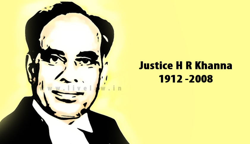 Remembering Justice HR Khanna On His 105th Birthday