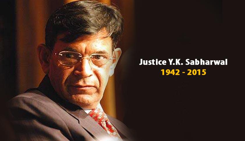 Former CJI Yogesh Kumar Sabharwal passes away