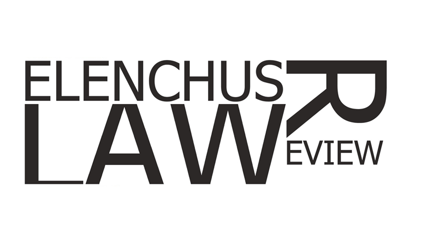 Elenchus Law Review : Centre for Economy Development and Law