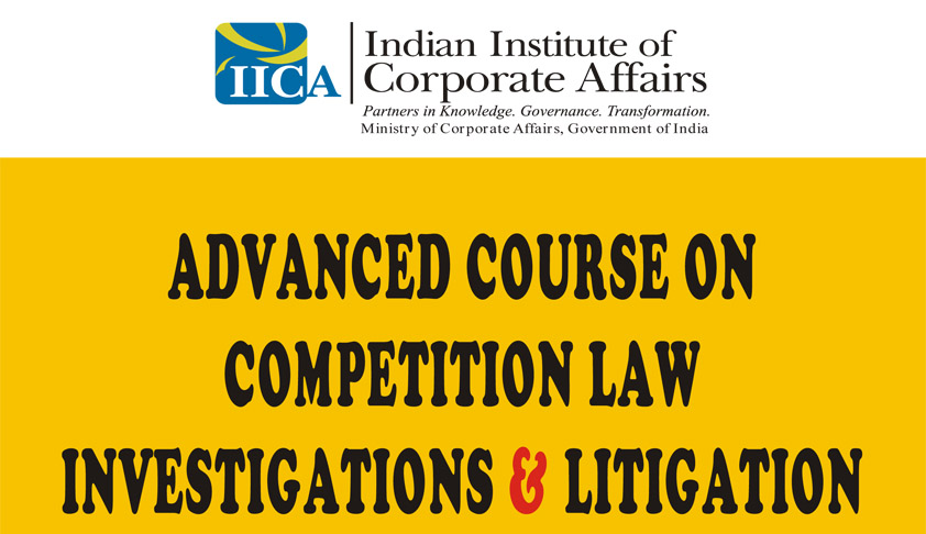 Advanced Course on Competition Law Investigations & Litigation