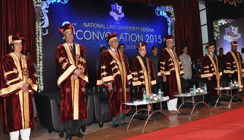 NLUO holds 2nd Annual Convocation; Chief Justice D.H Waghela delivers Convocation Address on behalf of president of India