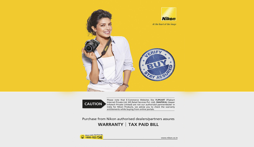 Karnataka HC disposes of case against Nikon after it removes Flipkart's name from caution notice