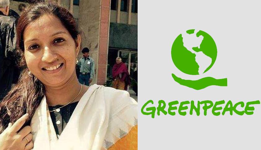 Supreme Court stays proceedings against Greenpeace Activist