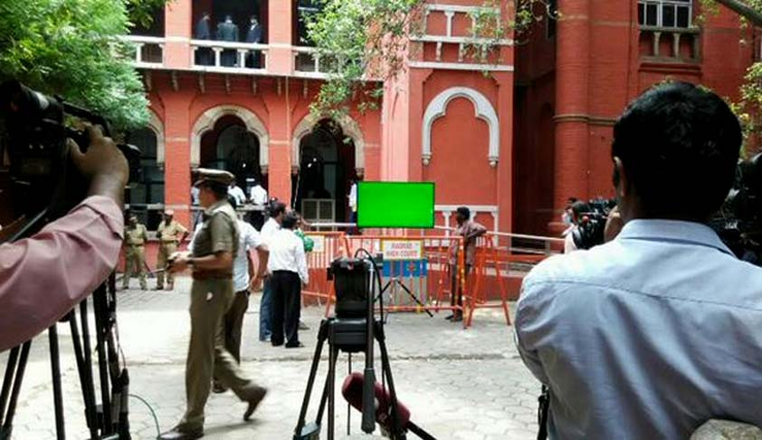 Madras HC live telecasts court proceedings for the first time