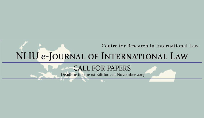 Call for Papers: NLIU e-Journal of International Law