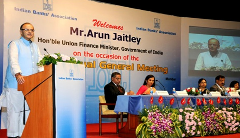 New Law on Anvil for Fast Track Arbitration in Order to Address the Stressed Areas of the Banking Sector; Finance Minister