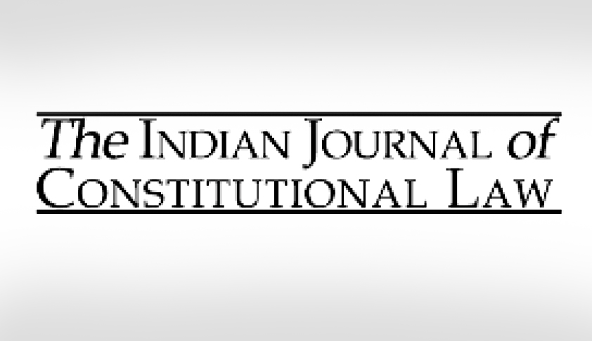 Call for Papers; The Indian Journal of Constitutional Law