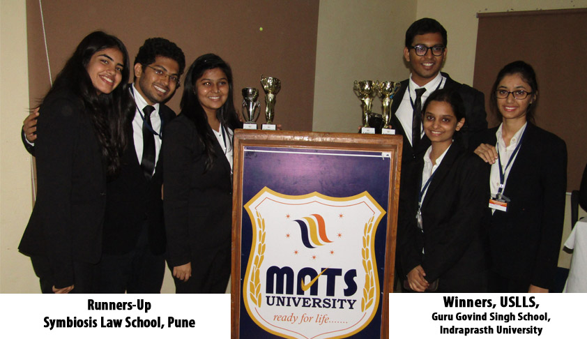 USLLS, Guru Govind Singh School, Indraprasth University wins 3rd Shri Mangilal Pagariya National Moot Court Competition on IPR