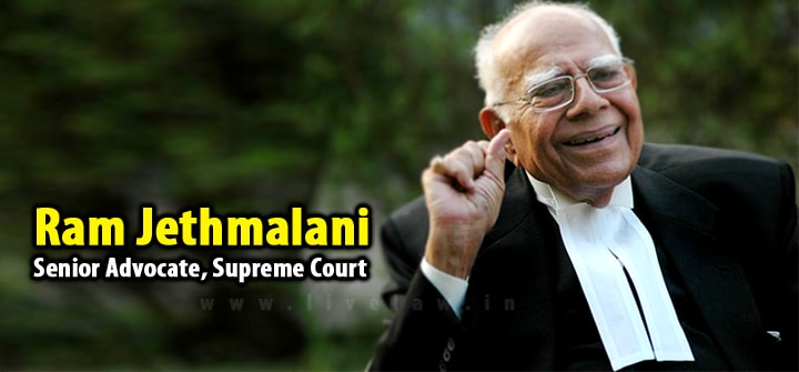 Breaking: Legendary Lawyer Ram Jethmalani Announces Retirement From Legal Practice