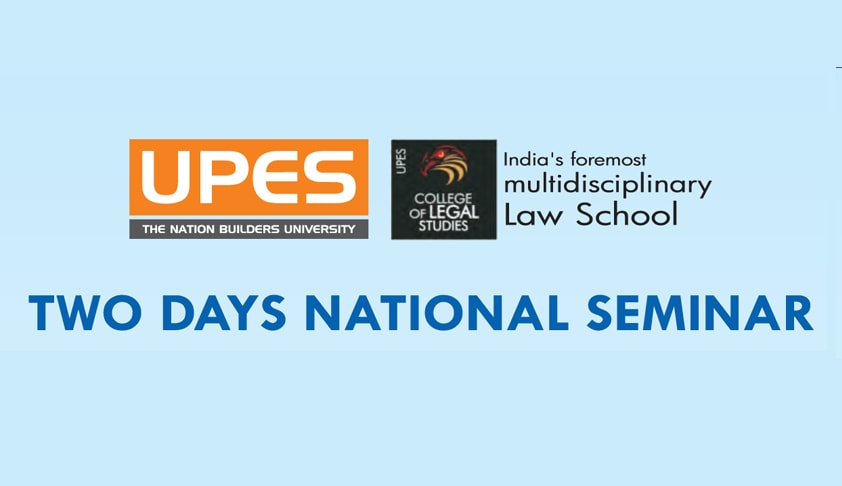 Two Days National Seminar on Criminology, Crime and The Criminal Justice System