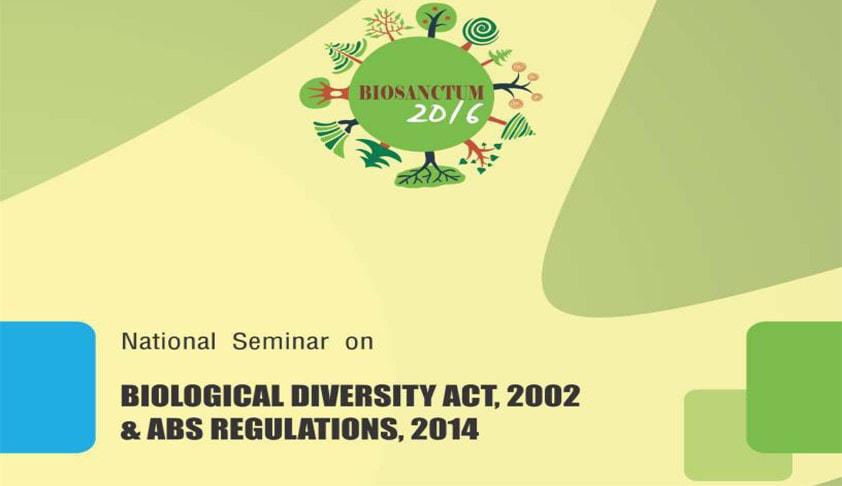Call for Papers: NLIU Bhopal announces its first Biodiversity Seminar, BioSanctum 2016
