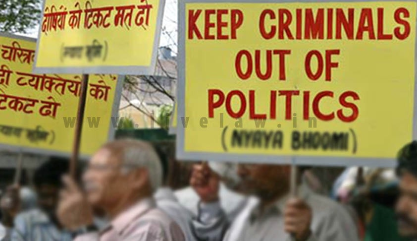 Supreme Court agrees to hear PIL to End Criminalization of Politics [Read Petition]