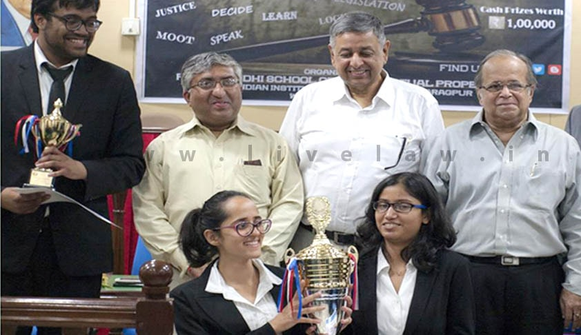 Symbiosis Law School, Pune wins the 2nd IIT Law School National Moot Court Competition