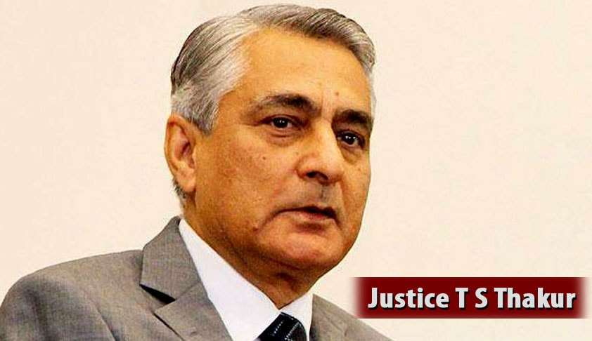 Chief Justice Thakur rejects the 'Security Clause' in the new MoP for Appointment of Judges