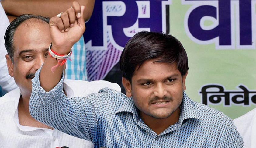 Gujarat Govt to file chargesheet against Hardik Patel by Jan 8