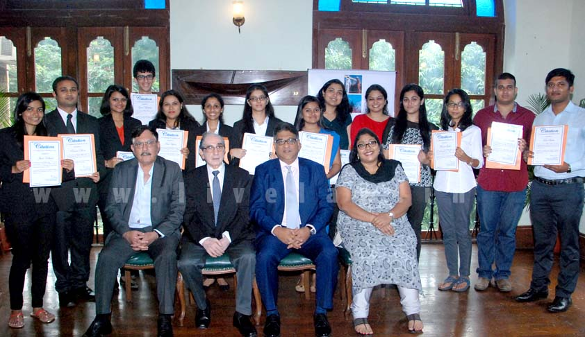 IRClass awards Shri Venkiteswaran Scholarships to Law Students of Mumbai University