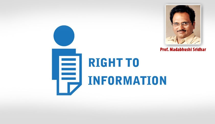 Filing RTI applications with Apex Executive Authorities seeking information about their subordinates, has to be discouraged: CIC [Read Order]