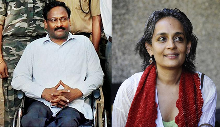 Bombay HC denies Bail to Prof. Saibaba, issues Contempt Notice to Arundati Roy for criticising denial of Bail [Read Order]