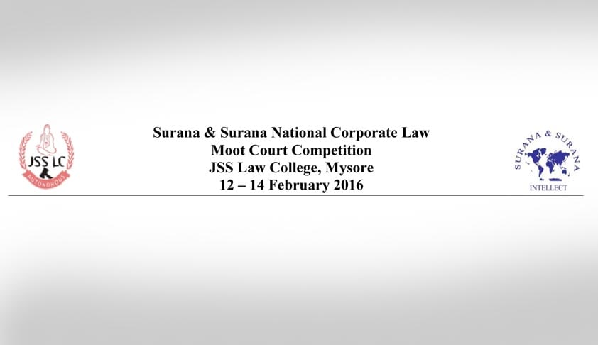 14th Surana & Surana National Corporate Law Moot Court Competition  & National Judgment Writing Competition on Corporate Law