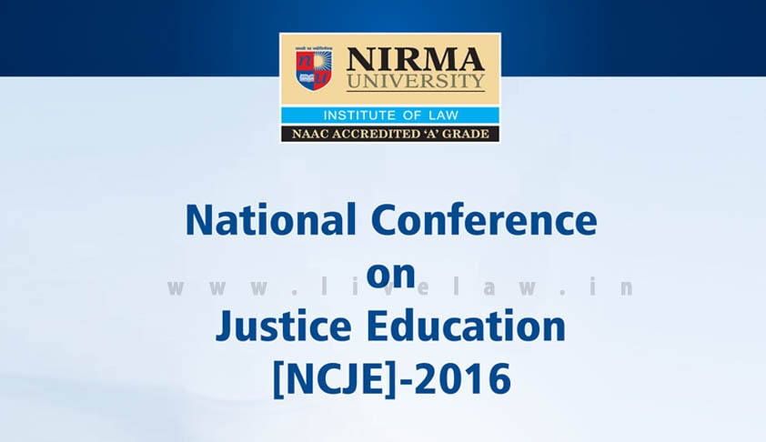National Conference on Justice Education 2016