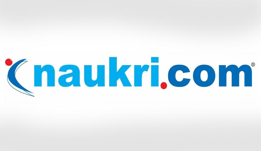 delhi hc restrains website from using the word naukri in its name