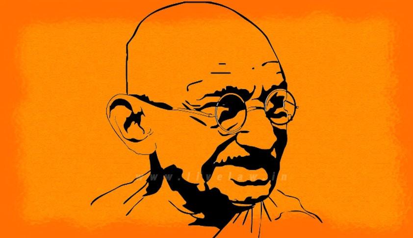 Mahathma Gandhi Caricature-min